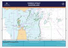 Image of map showing the Torres Strait