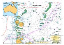 Two way route in Torres Strait