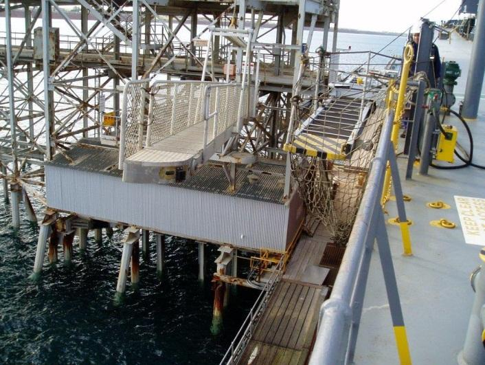 suspended gangway