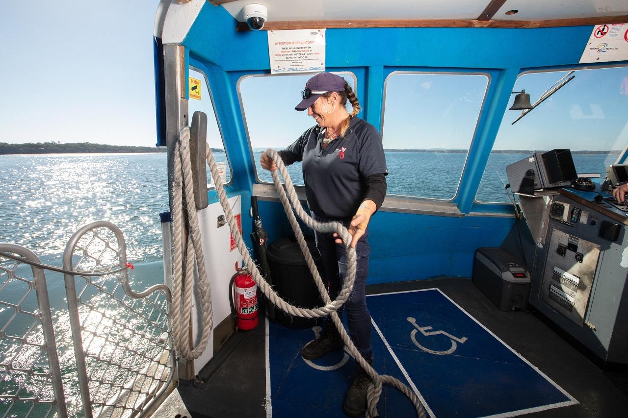 ferry operator