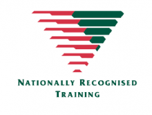 Image of nationally recognised training logo