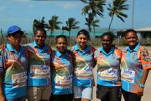 Image showing TSMSP sponsorship of the major community event Island of Origin Sporting Tournament