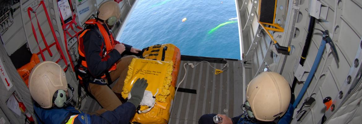 Australian search and rescue aircraft training exercise, Indian Ocean