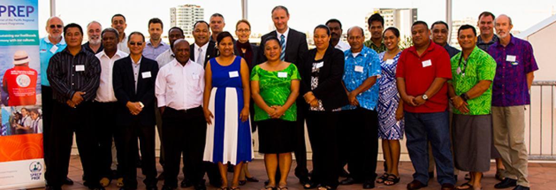 Workshop presenters and participants