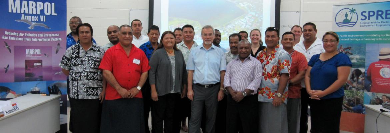 Workshop participants and instructors