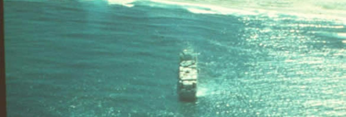 Image of Anro Asia grounded off Bribie Island, Queensland