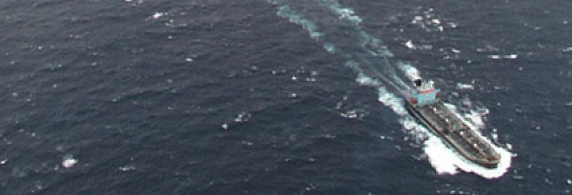 Image of the Sylvan Arrow at sea