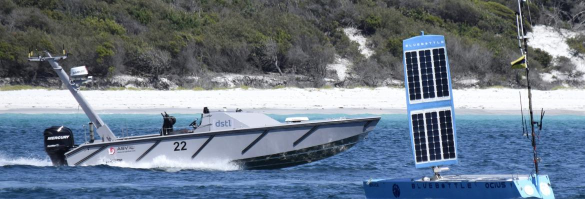 autonomous vessel in Jervis Bay