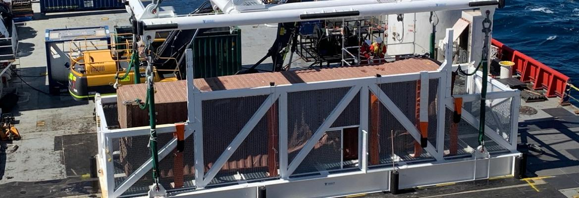 container on deck
