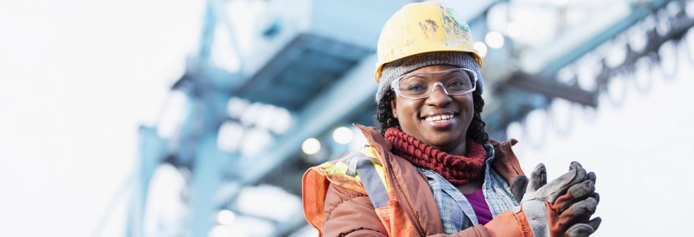 female seafarer
