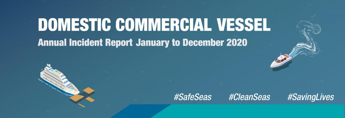 Domestic Commercial Vessel Annual Incident Report 2020