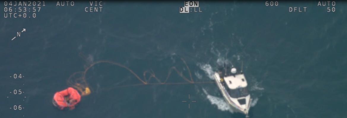 solo yachtsman rescue