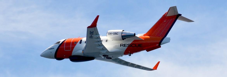AMSA Challenger jet
