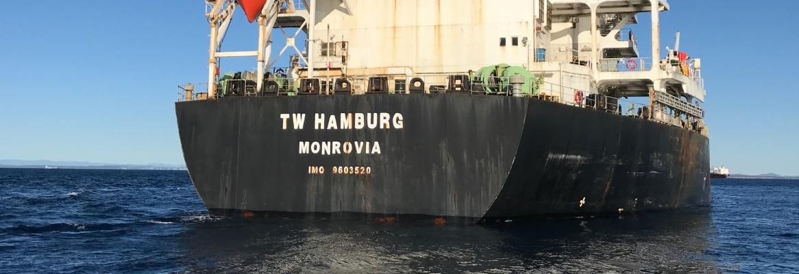 TW Hamburg banned from Australian ports for wage exploitation