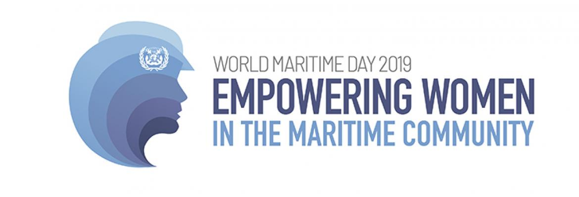 International Maritime Organization—logo for World Maritime Day 2019