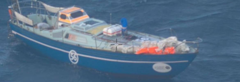 Laaland vessel on the ocean