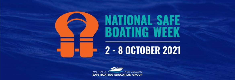 National Safe Boating Week 2021 logo
