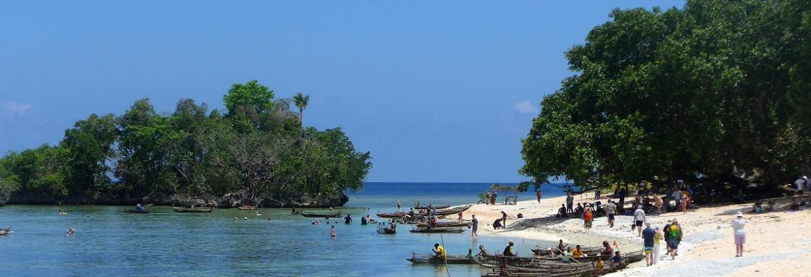 boats on a Papua New Guinea shore