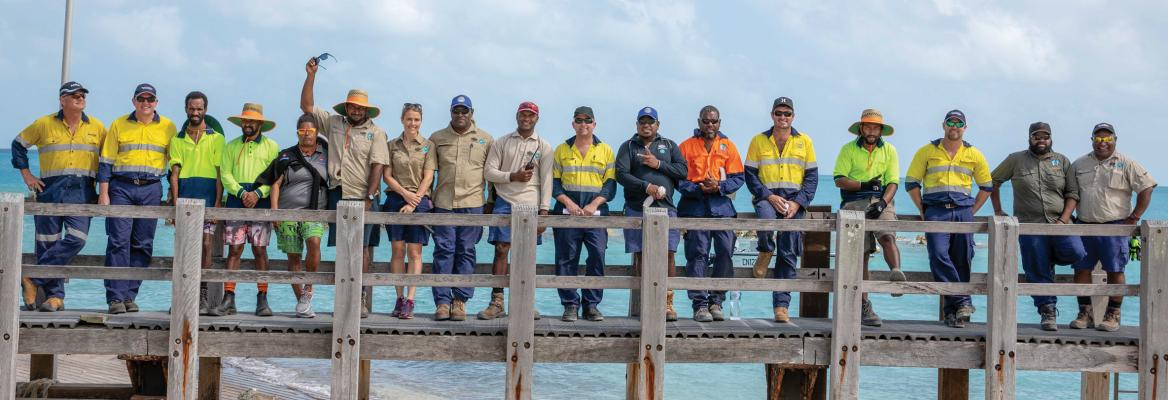 Australia's work with developing maritime states