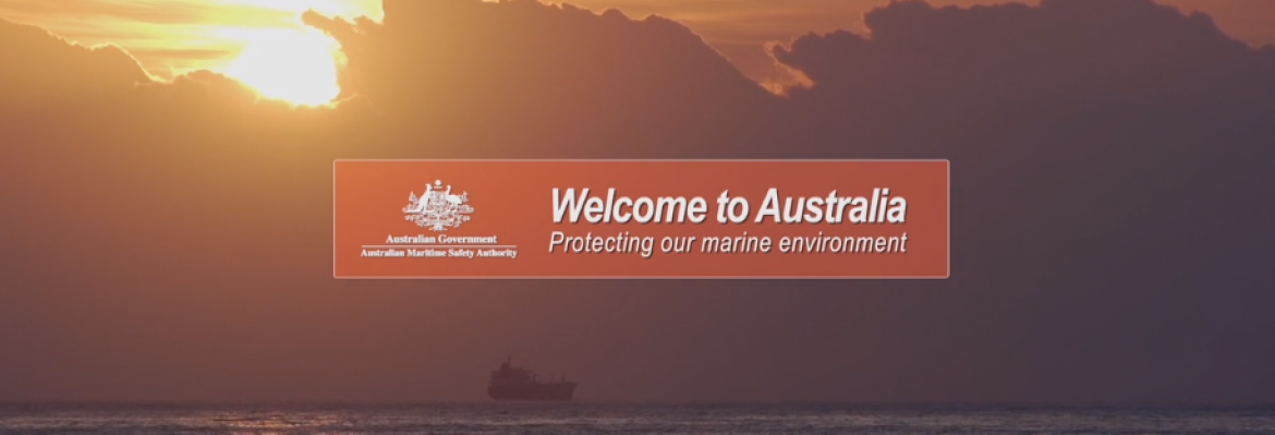 Wecome to Australia - Protecting our marine environment