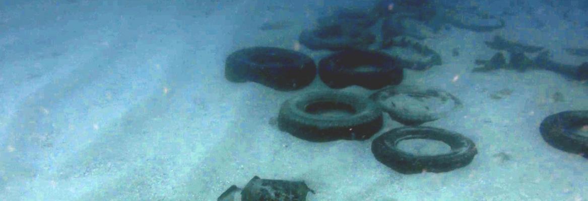 tyres underwater
