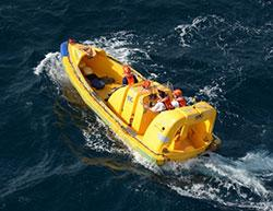Image of Radiance of the Seas' rescue boat