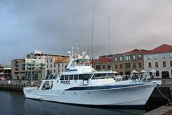 Image of Tasmanian Police vessel Van Diemen