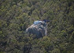 Image of helicopter crash site