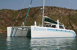 Image of catamaran Sirocco of Oz