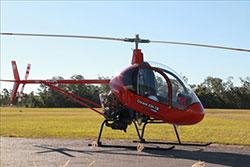 Image of  single seat CH7 light kit helicopter VH-JEW