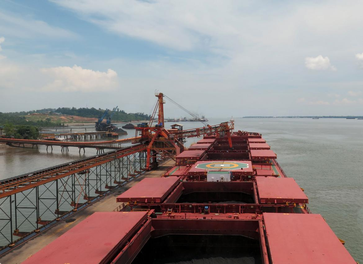 The training included ship inspections at two of Indonesia's busiest ports