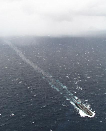 Image of the Sylvan Arrow at sea