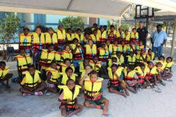 Maritime Safety Education Workshop at Warraber Island