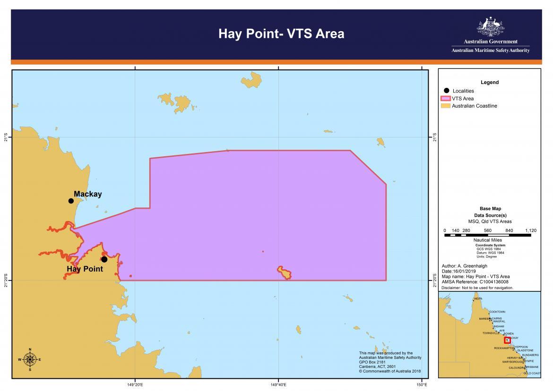 Hay Point VTS chart