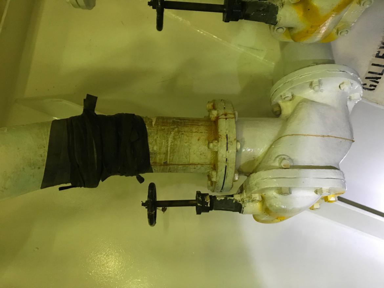 km kobe galley overboard discharge line