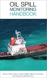A salvage vessel on the cover of the oil spill monitoring handbook