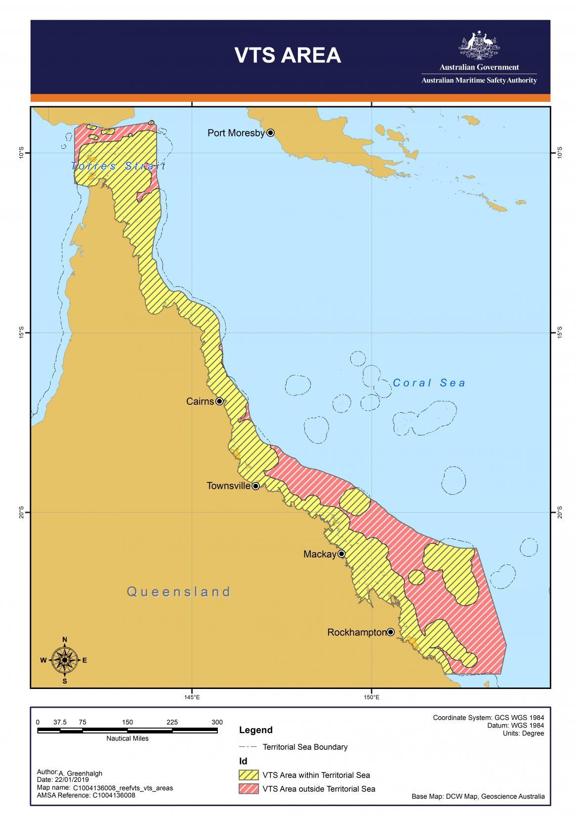 Reefvts VTS areas
