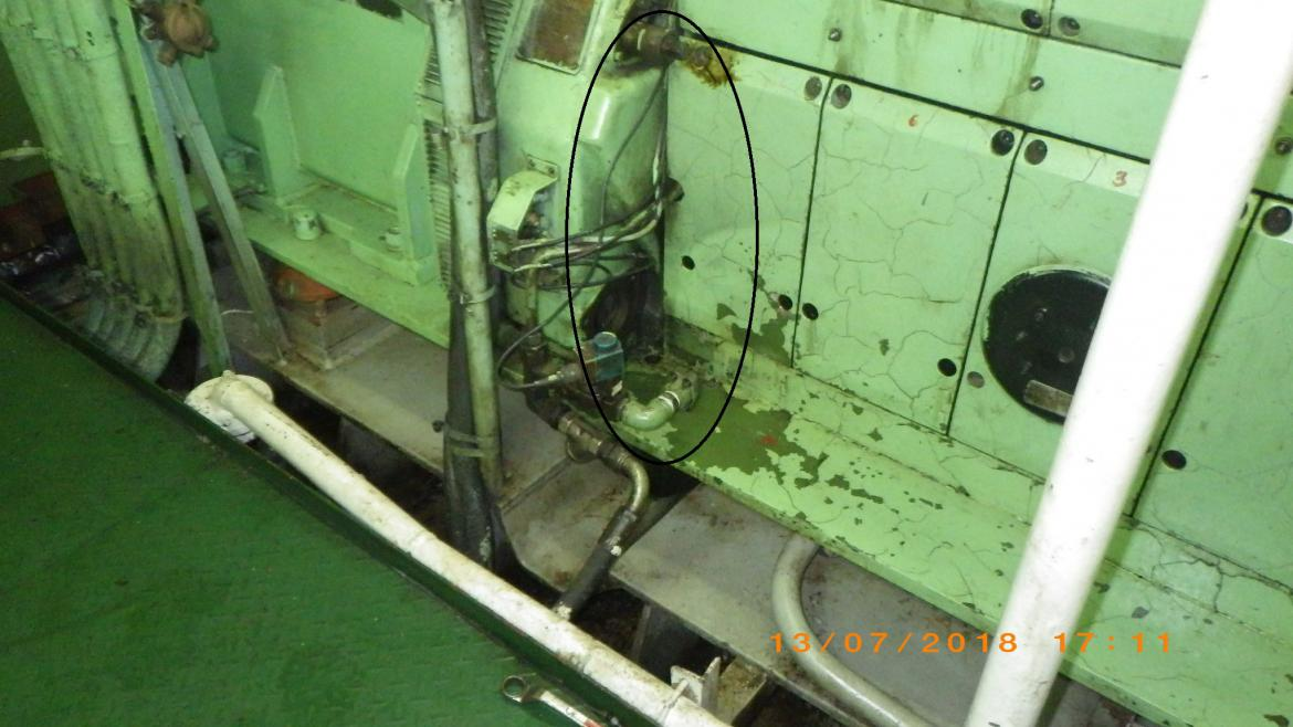 RHL Novare showing defective no 3 generator